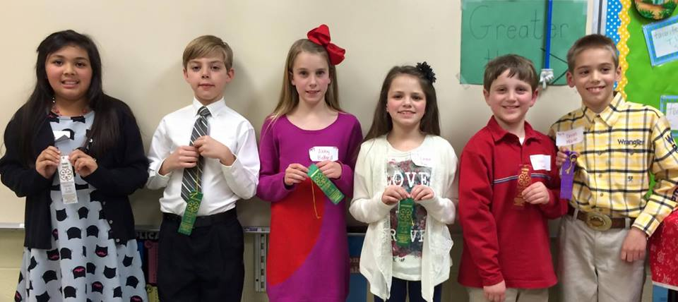 Public Speaking Winners