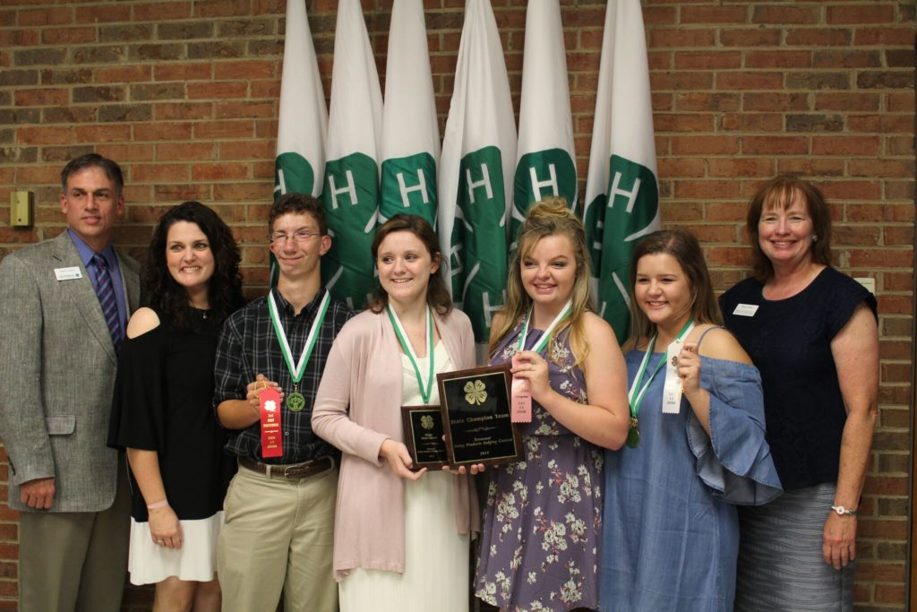 Dairy Products State Winning Team